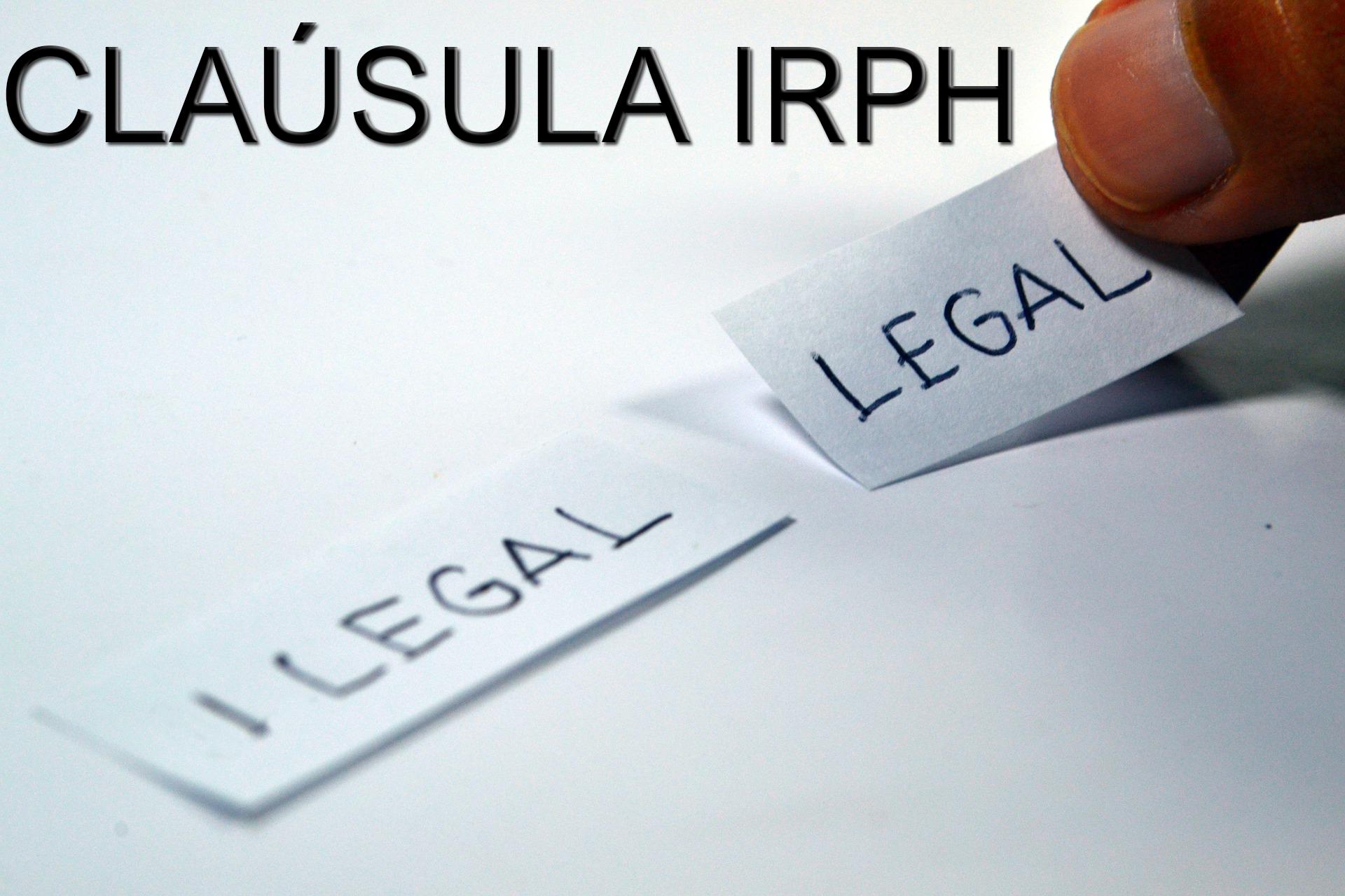 Situación judicial del IRPH después de la sentencia del TJUE